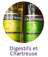 Digestifs et Chartreuse