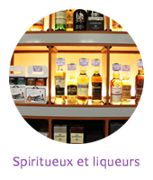 Spiritueux, whisky, liqueurs