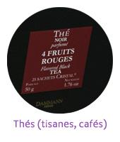 Thés, cafés, tisanes