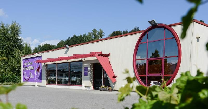 Les Caves du Tour'Billon, magasin de vente de vin, spiritueux, liqueurs, produits régionaux, bières, cadeaux à Pont-de-Beauvoisin en Savoie - La Baronnie